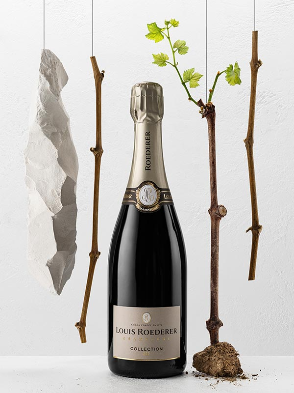 Champagne Louis Roederer - The perfect match with food and friends